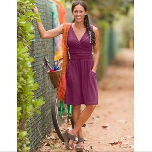 Athleta | Jura Dress in Raspberry with Pockets